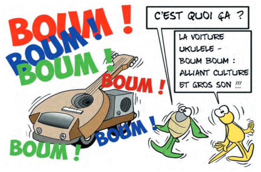 """"""" Les nuisances sonores """" vu par Munoz"""