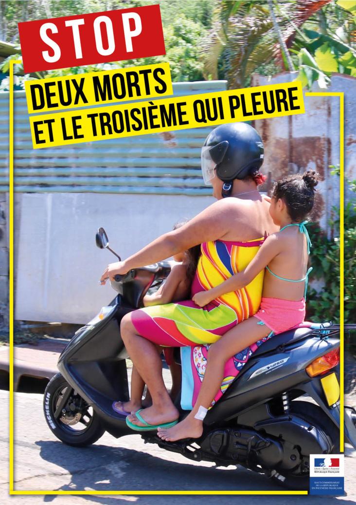 Le haut-commissariat vient de réaliser cinq nouvelles affiches illustrant des erreurs de comportement sur la route et portant un slogan choc.