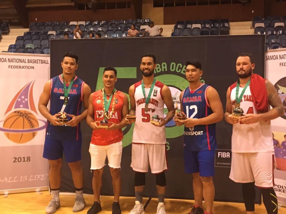 Tahiti, Samoa et Cook Island sont qualifiés pour les prochains Jeux du Pacifique sud © Fiba.com