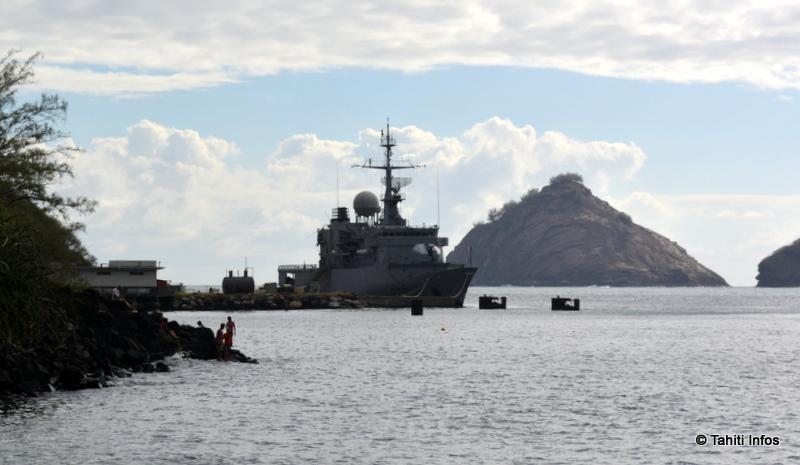 Nous avons quitté le Prairial lors de son escale à Nuku Hiva. Le navire repart en mer ce mardi poursuivre sa mission...
