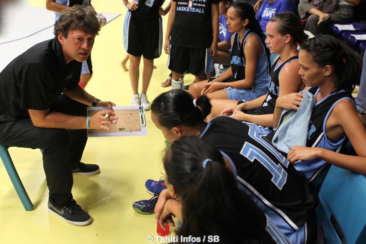 Georgy Adams a désormais les armes nécessaires pour développer le basket en Polynésie