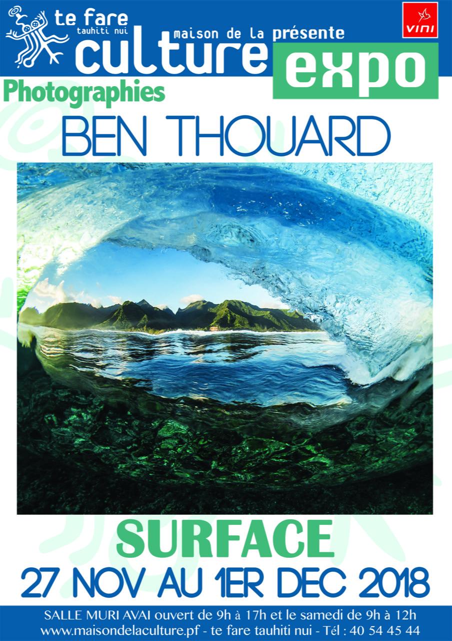 Ben Thouard présente 25 tirages salle Muriavai