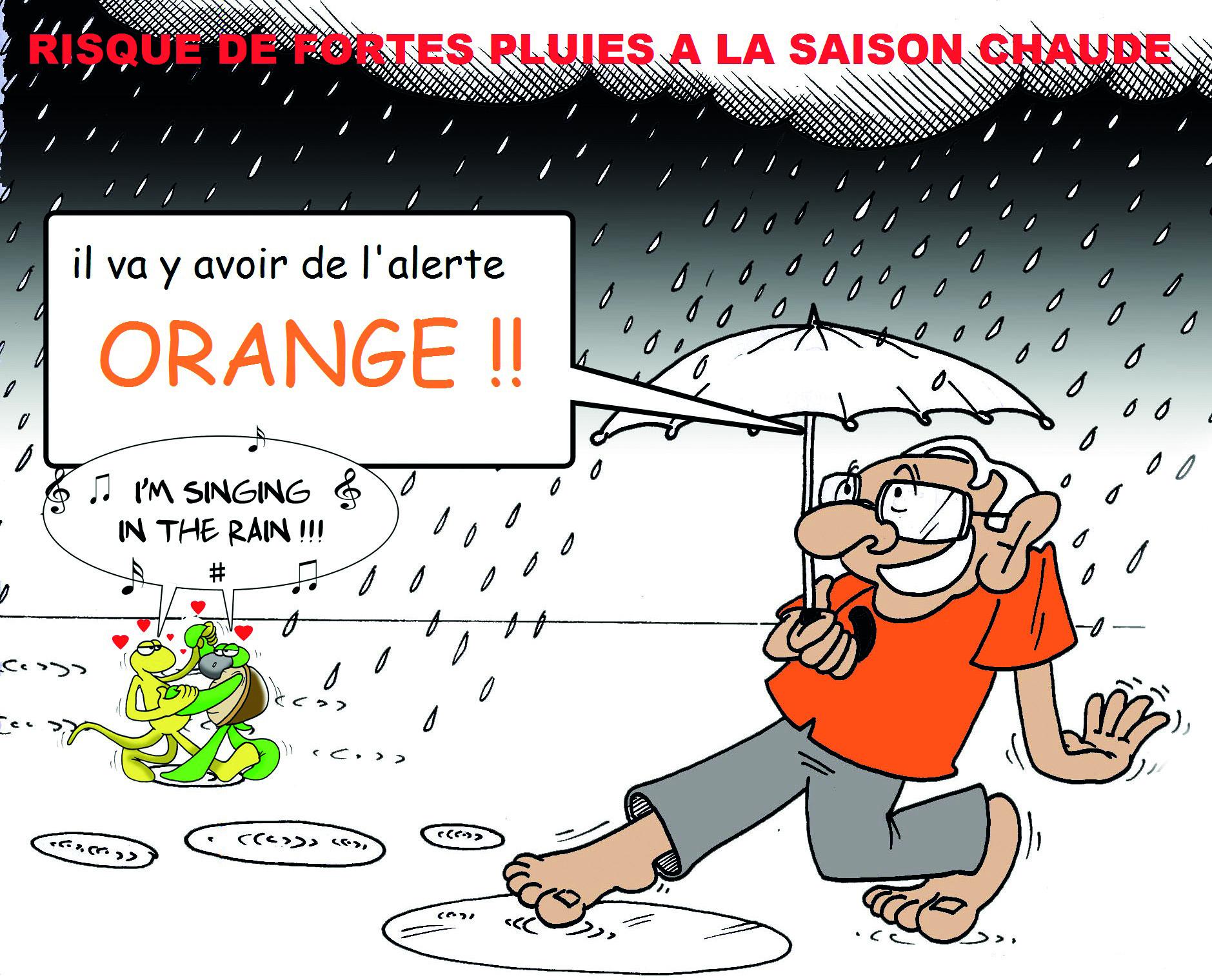 """"""" La saison chaude très pluvieuse """" vu par Munoz"""