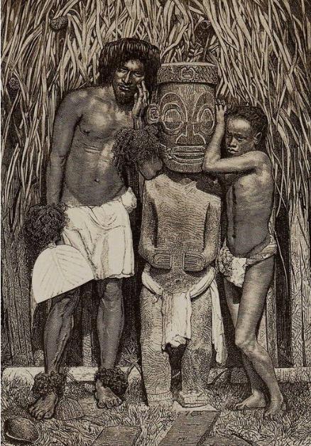 Au tournant du XIX et du XXe siècle, les Marquises étaient si dramatiquement dépeuplées que tout le monde s'accordait alors à penser que l'archipel perdrait bientôt sa population d'origine.