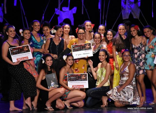 Pour sa première participation, l'école de danse de Vaheana repart avec le 1er prix dans la catégorie Mehura.