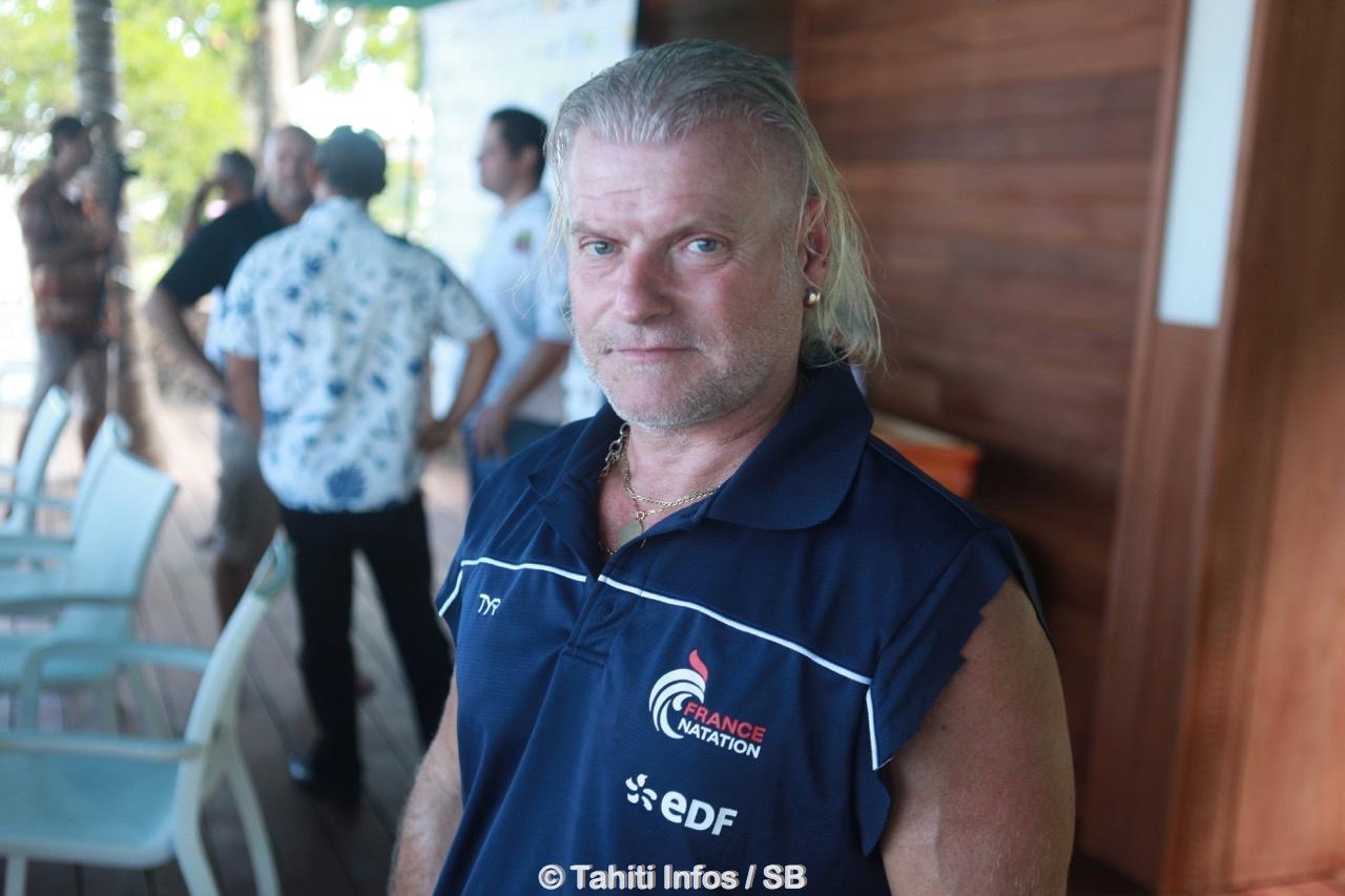 Philippe Lucas, entraineur national de natation