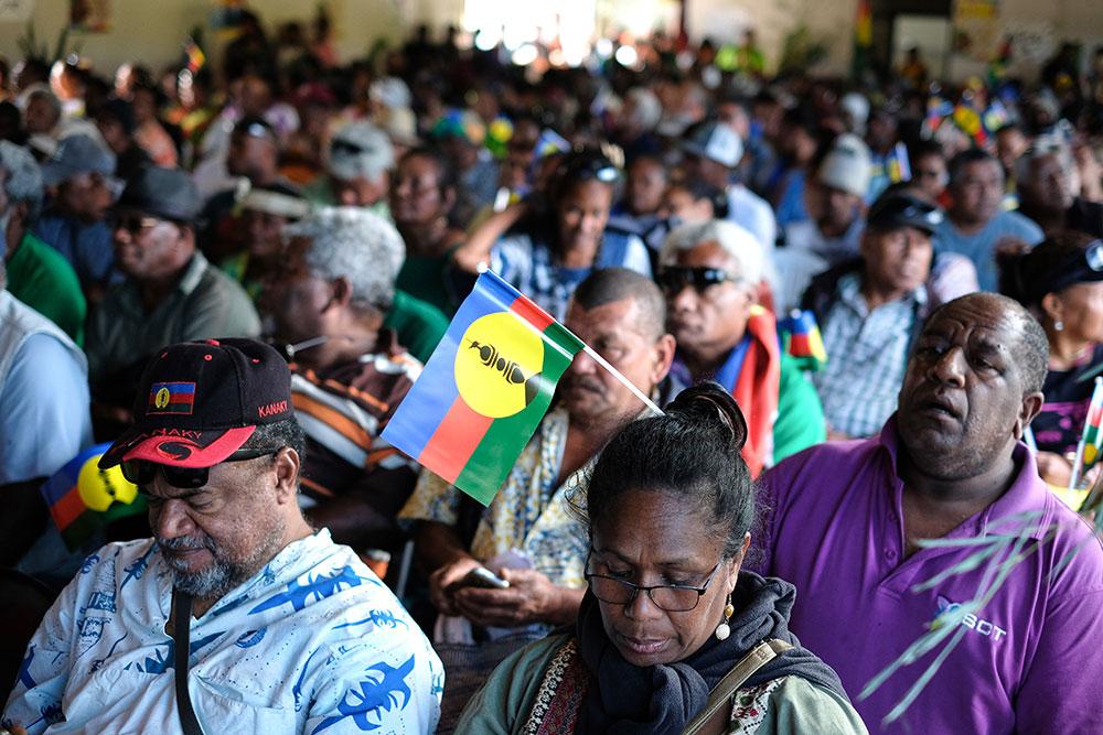 """N-Calédonie: les indépendantistes pour un deuxième référendum """"dans les meilleurs délais"""""""