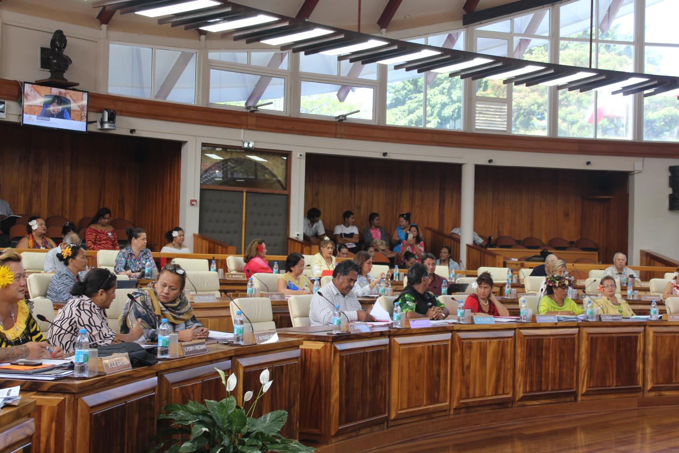 Légende : Le texte de ce budget sera soumis aux élus de la place Tarahoi ce jeudi à partir 9 heures.