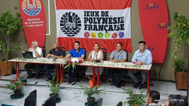 La ministre des Sports a présenté ce mardi à la presse, les jeux de Polynésie qui se tiendront du 13 au 20 décembre à Tahiti.