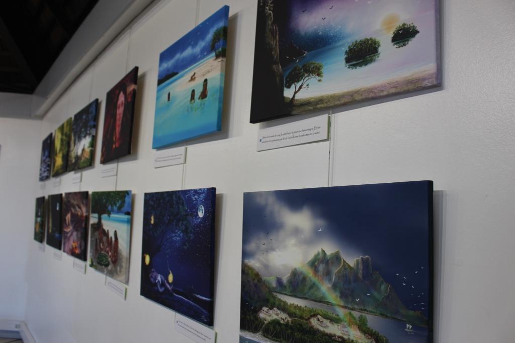 A'amu présente des portraits et des illustrations de légendes