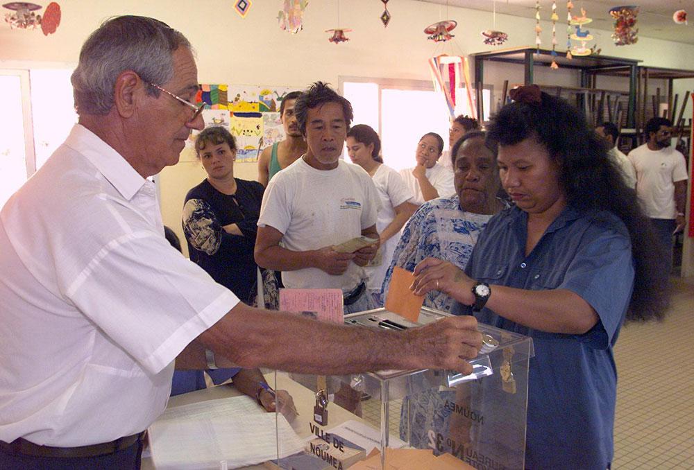 Nelle-Calédonie: rassemblement pour l'ouverture du corps électoral