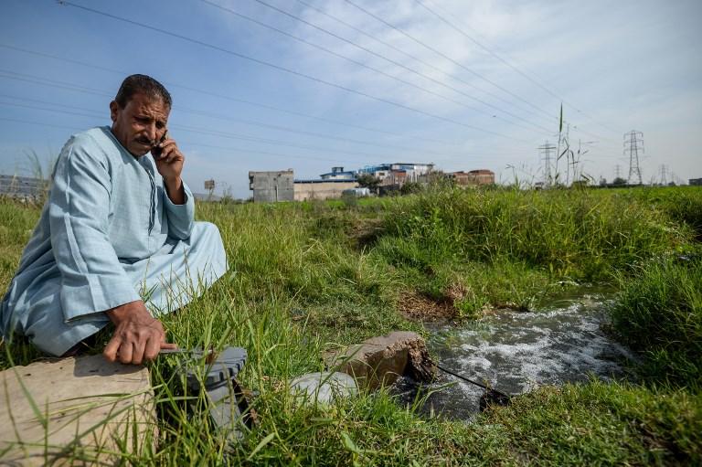 Climat: les champs fertiles du Delta du Nil menacés