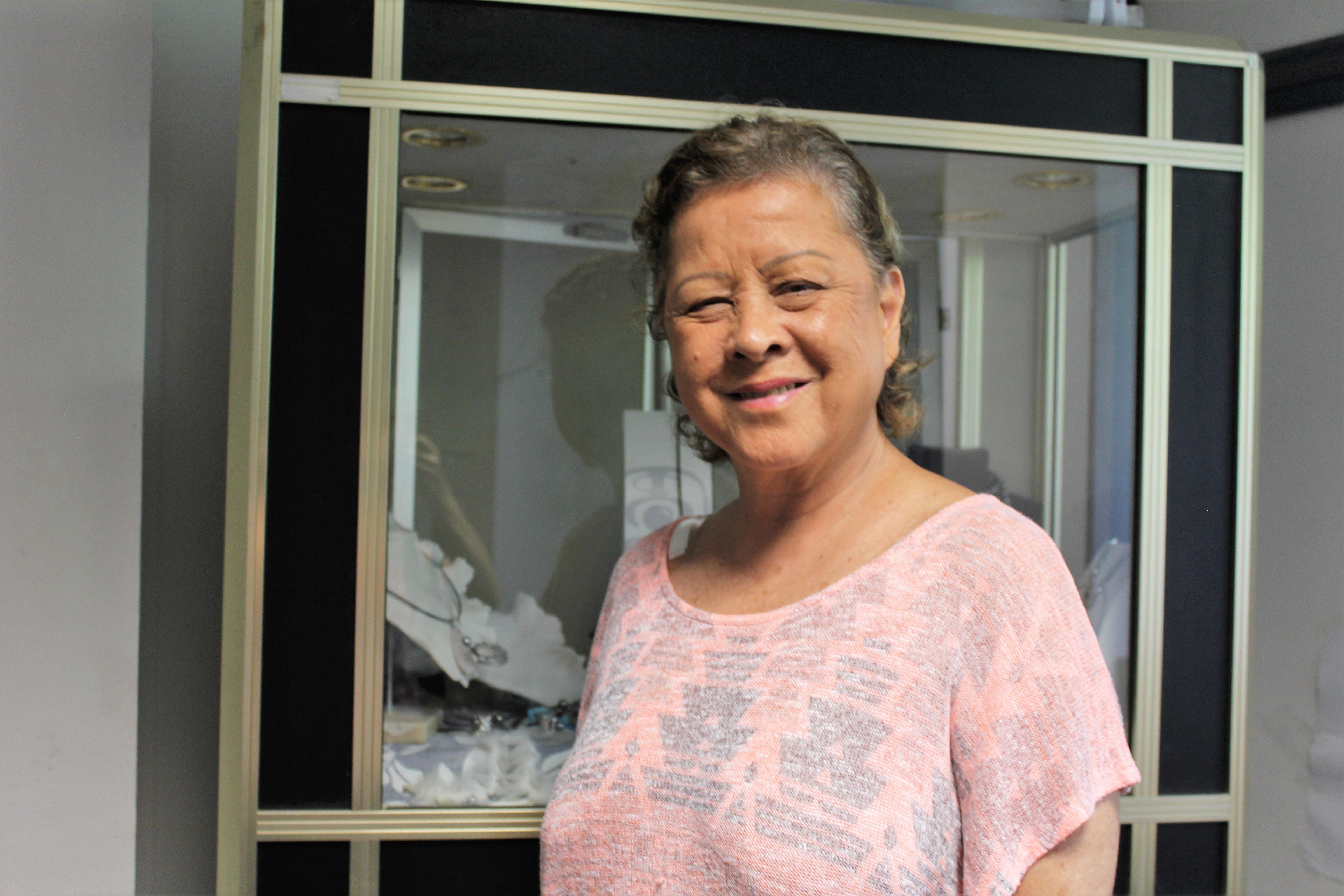 Aline ladassari est présidente de la Tahitian Pearl Association of French Polynesia.