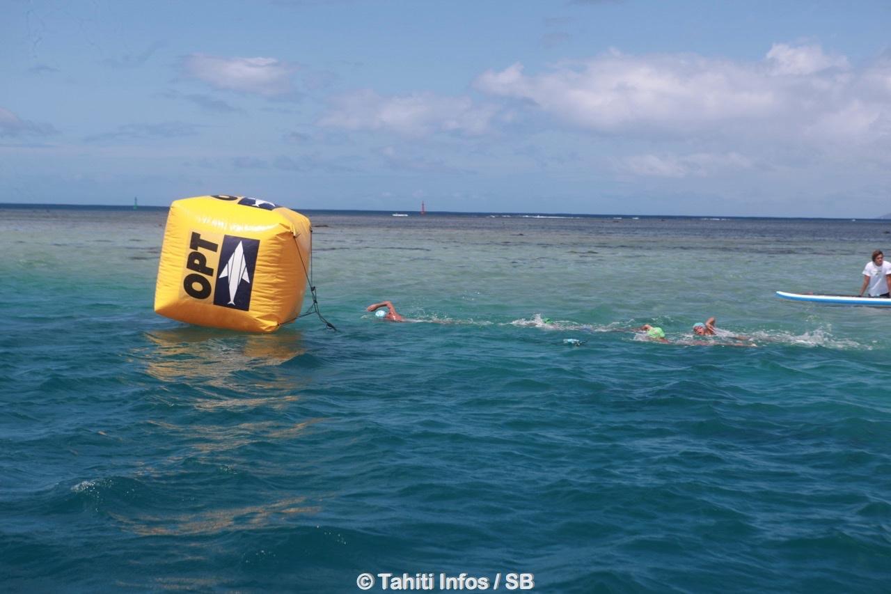 La natation en eau libre, une discipline qui semble adaptée à la Polynésie