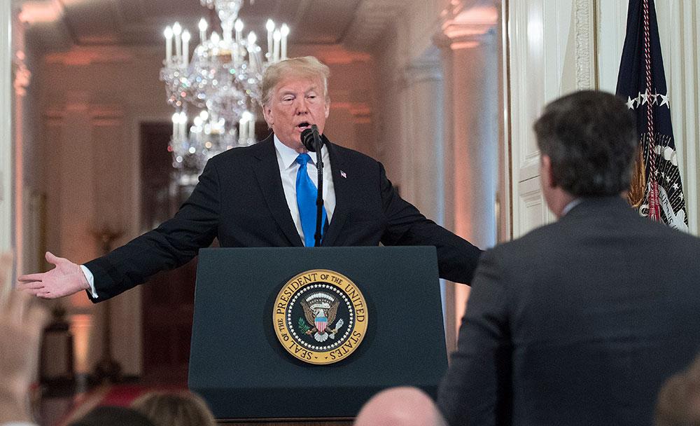 Après l'attaque de Strasbourg, Trump se dit conforté dans l'idée d'un mur frontalier