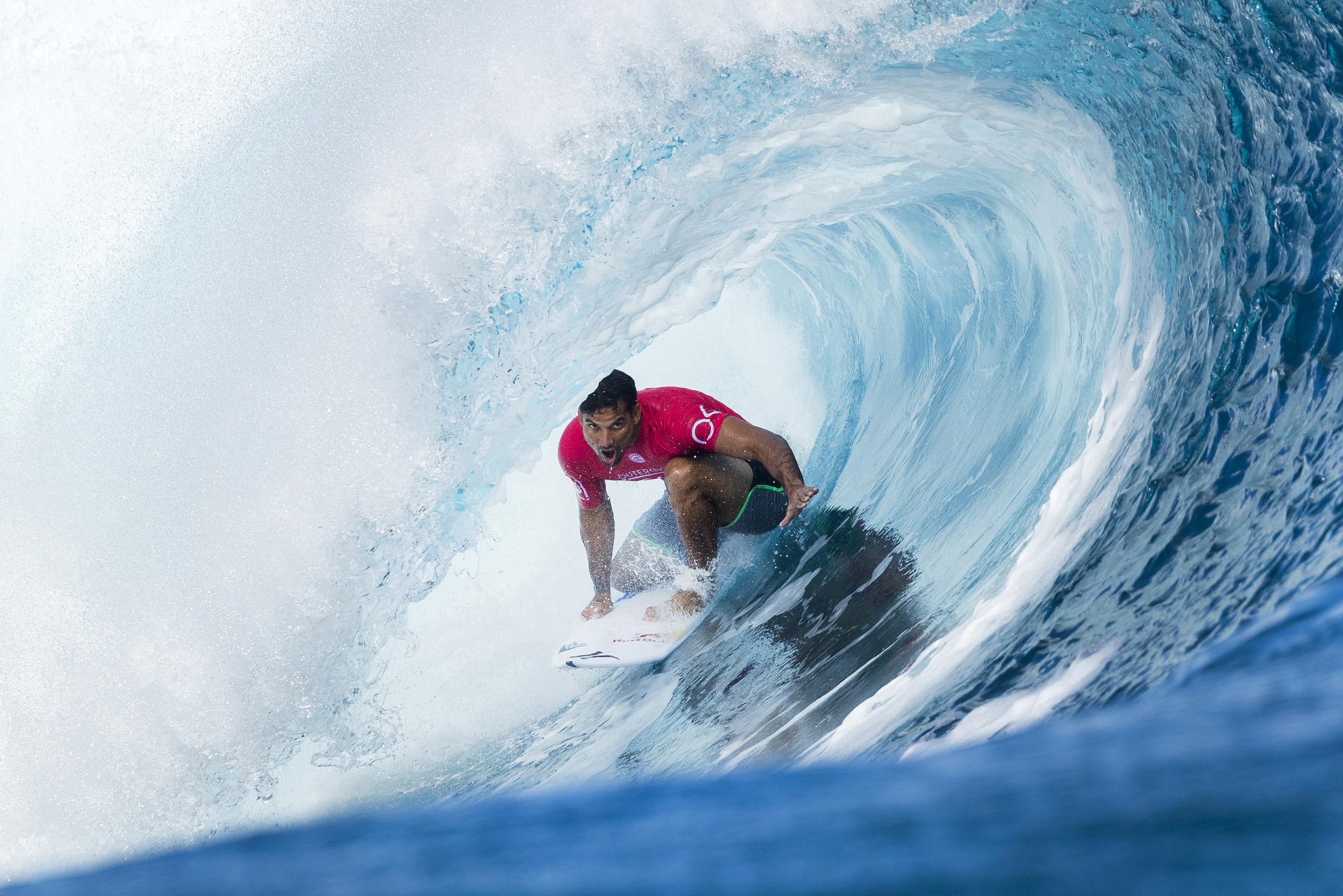 Bon débit de compétition pour Michel Bourez (photo d'illustration)