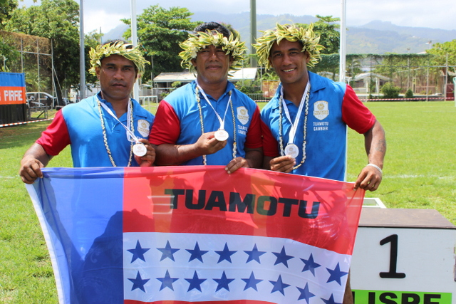 Jeux de Polynésie : Rencontre avec la délégation pa'umotu