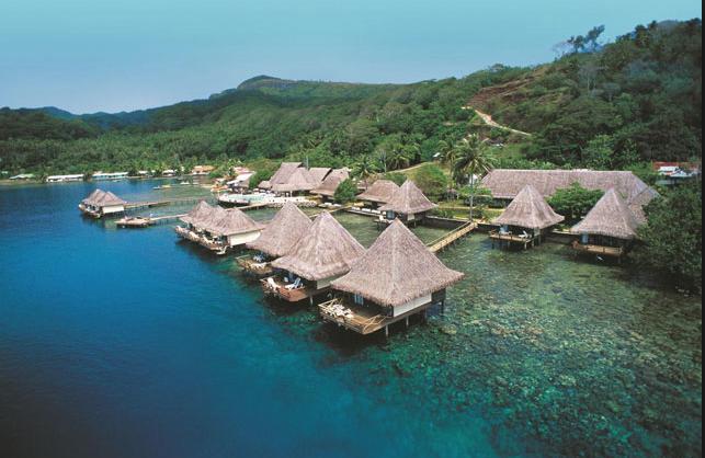 L' Hawaiki, dernière acquisition du groupe Grey en Polynésie qui porte à 6 le nombre d'hôtel rachetés par l'homme d'affaire, pour un montant total de 40 Millions de dollars