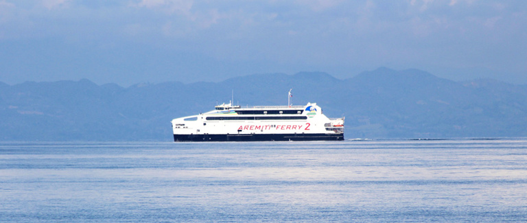 Le Aremiti Ferry II de nouveau opérationnel