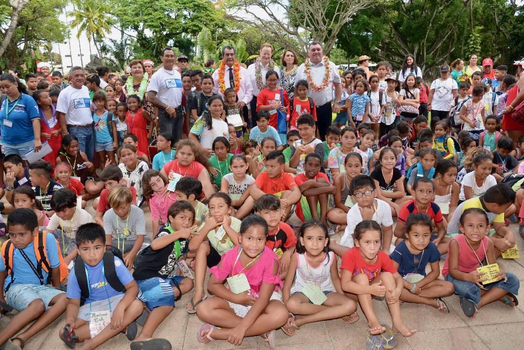 Social Police 2000 organise une journée festive pour 400 enfants