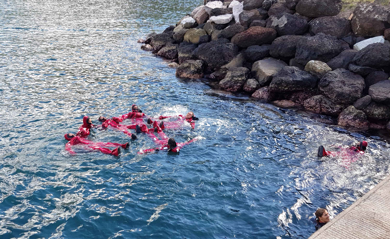 Deux formations sur la sécurité maritime dispensées aux pêcheurs de Nuku Hiva