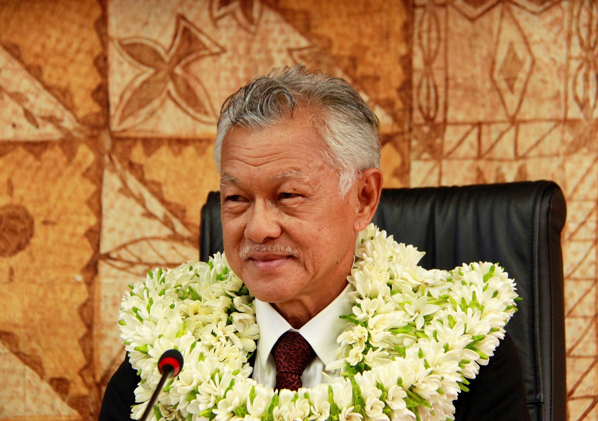 Les vœux de Gaston Tong Sang aux Polynésiens