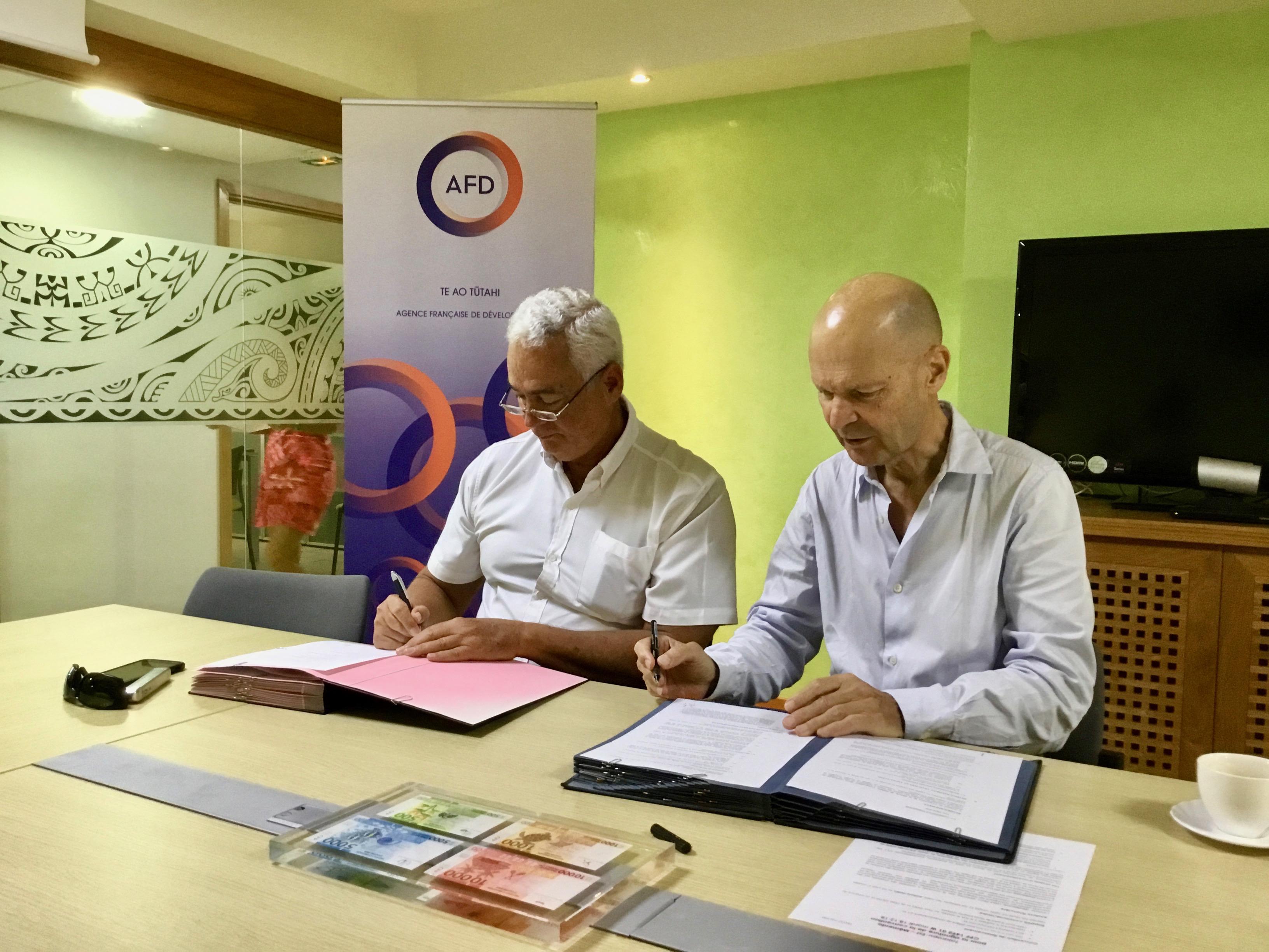145 millions de francs pour rénover l'éclairage des routes de Taiarapu-Est