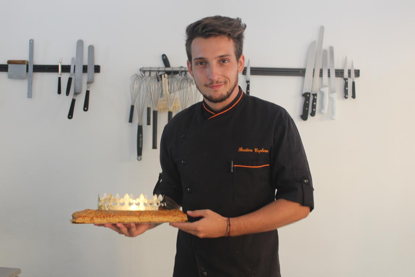 Bastien Capbern est chef pâtissier chez Bogato.