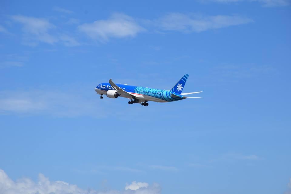 Le Dreamliner, se prénommant Tupaia, est attendu ce mois-ci au fenua.