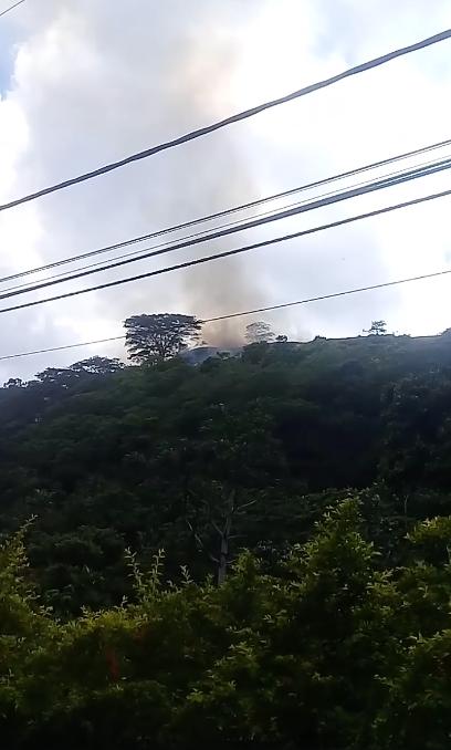 Un incendie de végétation maîtrisé sur les hauteurs de Arue (MàJ)