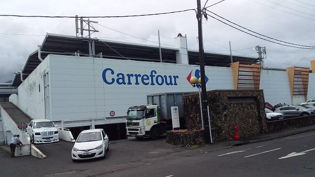 L'hypermarché restera ouvert pendant les travaux.