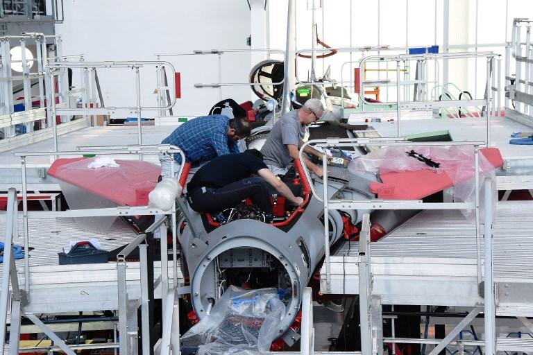 Florence Parly lance le nouveau programme Rafale, à près de 2 mds d'euros