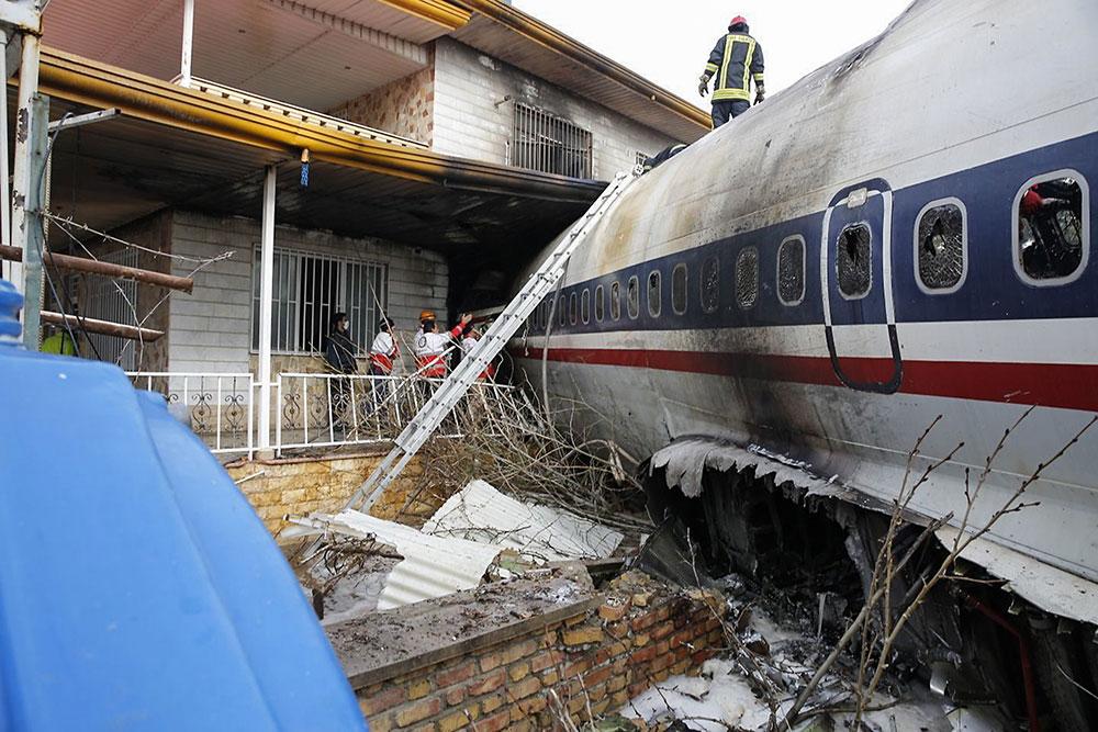 Quinze morts dans le crash d'un avion cargo en Iran
