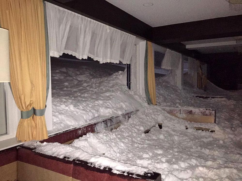 Autriche: une avalanche s'engouffre dans un hôtel, pas de blessé