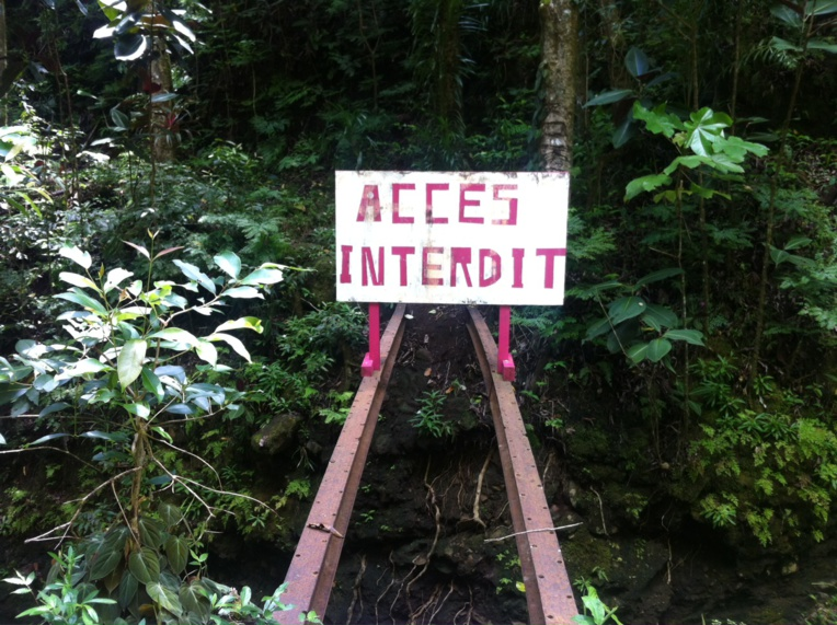 Intempéries: l'accès à la vallée de la Fautaua interdit