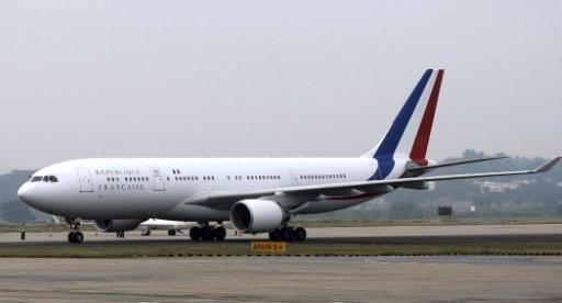 L'Airbus A330 présidentiel en escale à Papeete