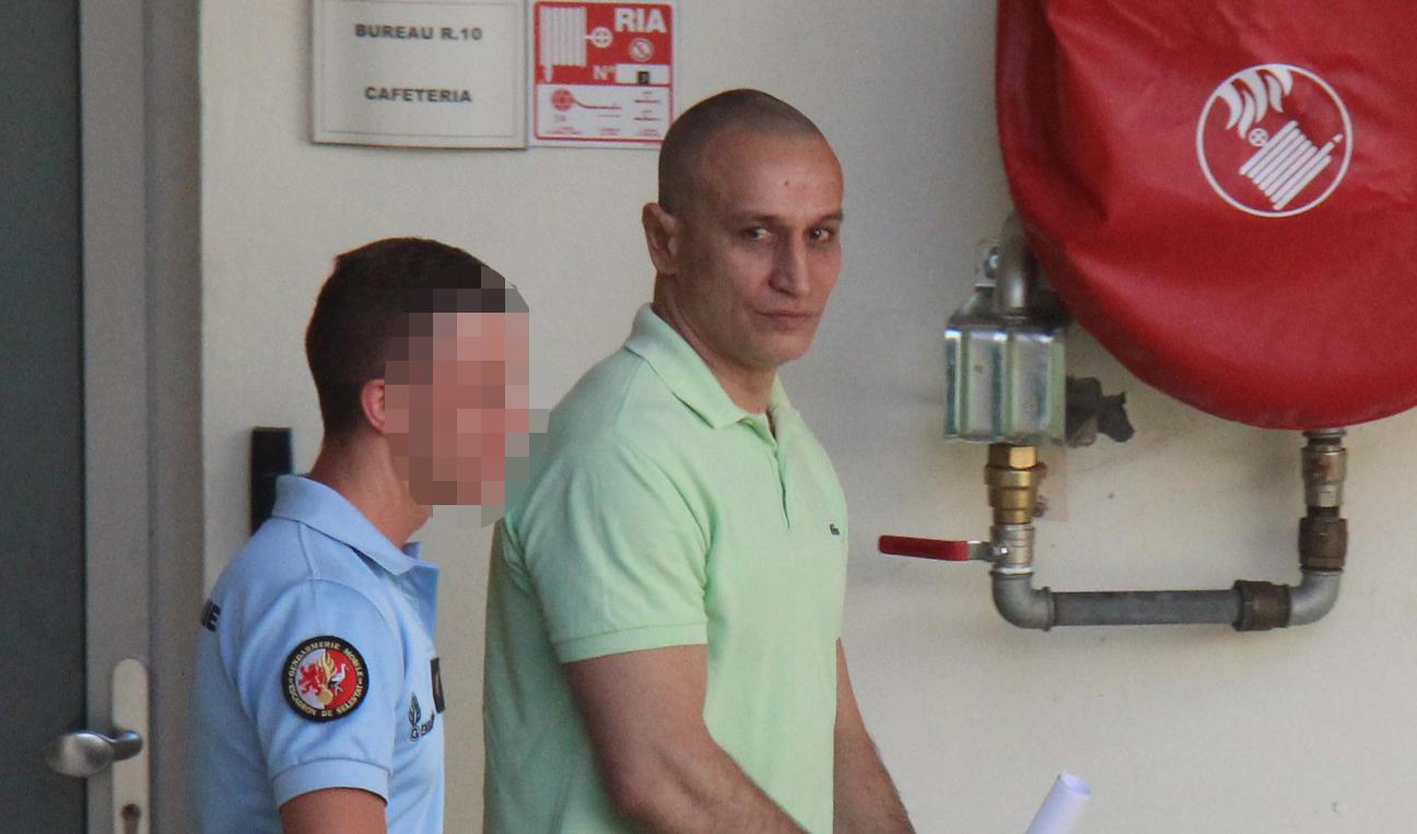 Tamatoa Alfonsi ce mardi au tribunal de Papeete.