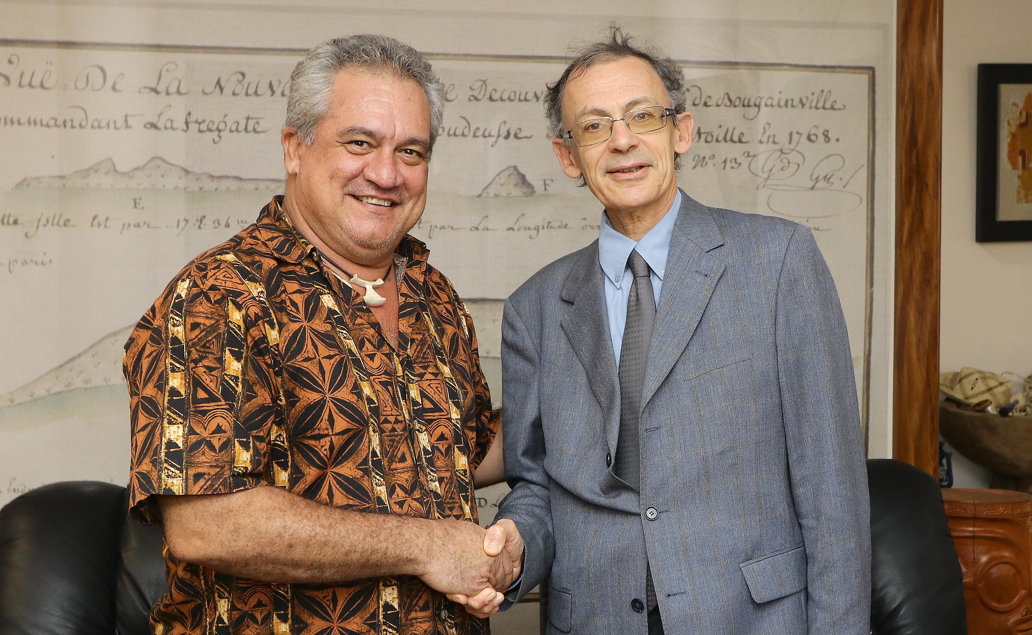 Le ministre de la Culture s'entretient avec le Secrétaire permanent pour le Pacifique