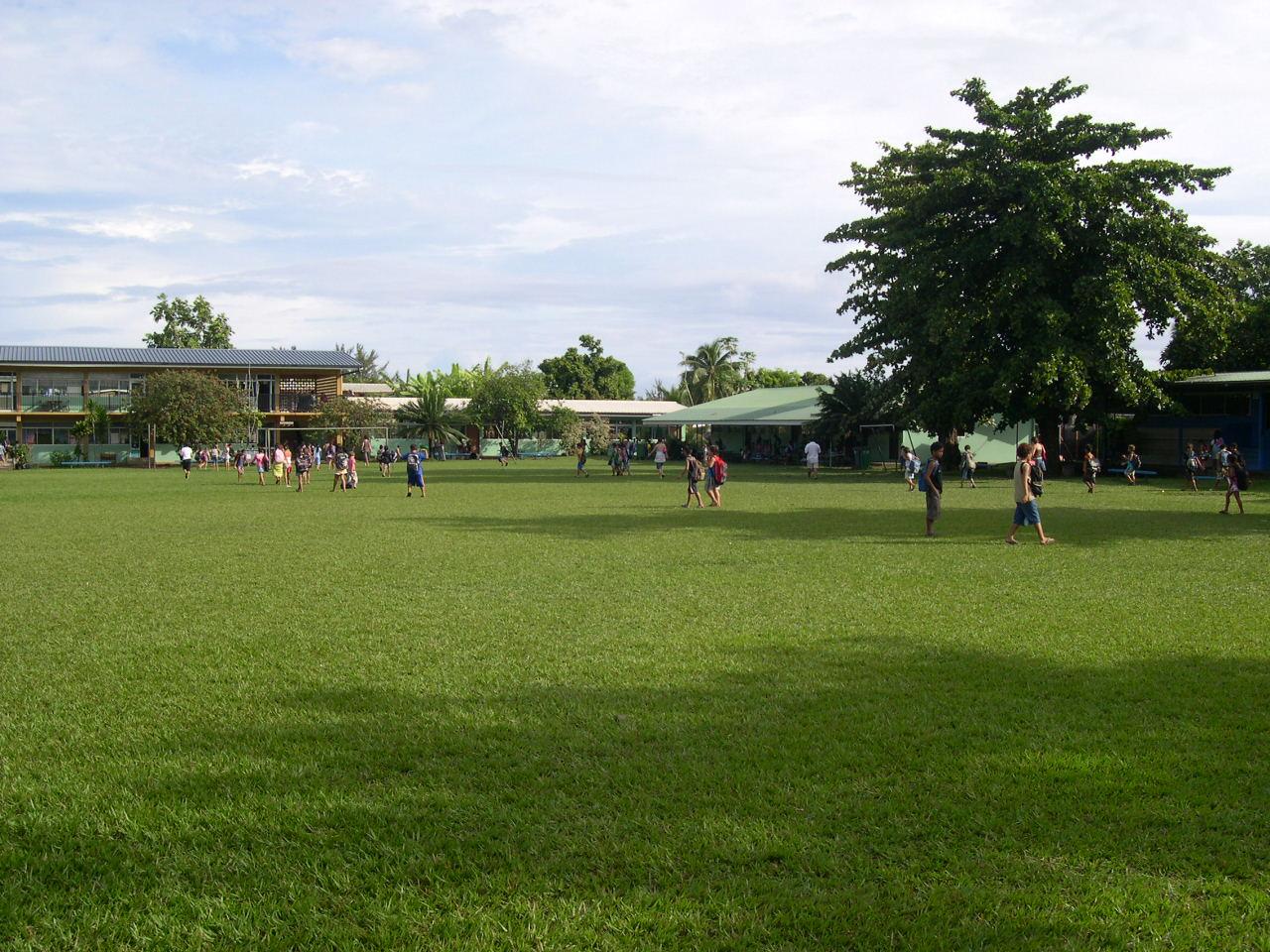 Pour ses 60 ans, l'école primaire de Saint Paul organisera diverses courses à pied, samedi. (crédit photo : pierreatahiti.blogspot.com)