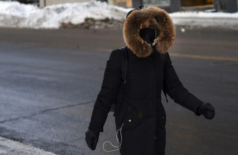 """La """"Fête des neiges"""" de Montréal stoppée par la neige"""