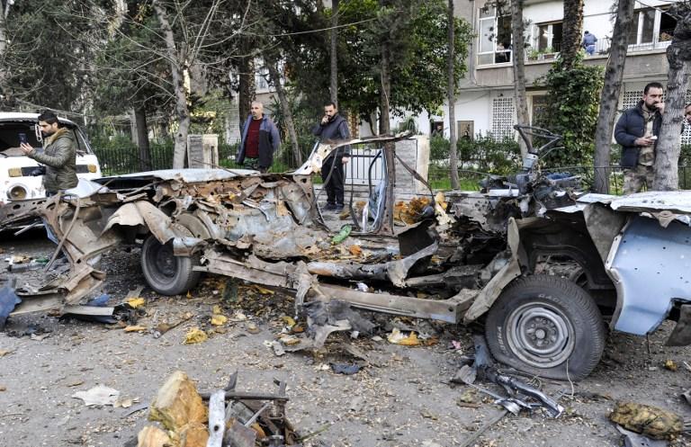 Syrie: la capitale Damas visée par un deuxième attentat en quelques jours