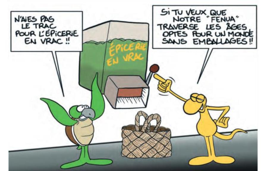 """"""" L'épicerie en vrac """" par Munoz"""