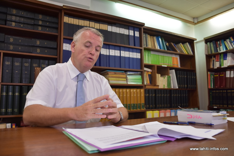 Jean-Yves Tallec, président du tribunal administratif de Polynésie française.