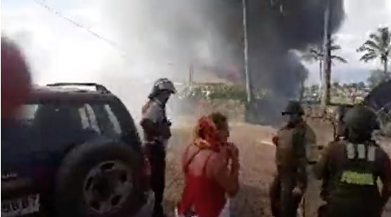 Bagarre mortelle et incendies à l'île de Pâques