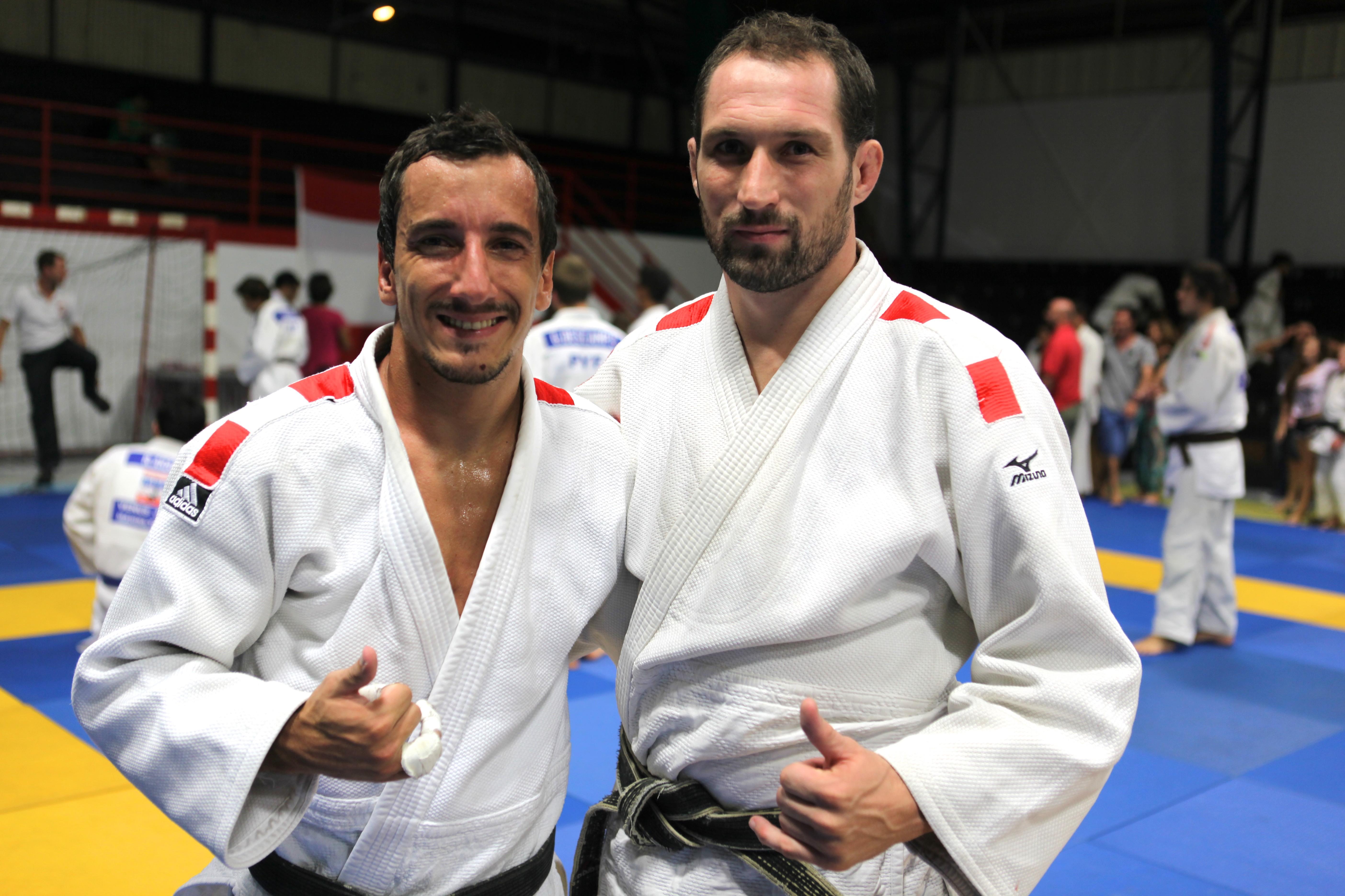 Cédric Delanne (à gauche) et Cyril Gaudemer (à droite)
