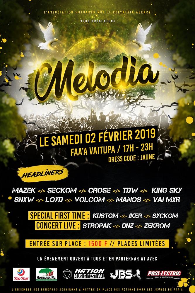 Melodia : un concert rap et électro contre l'ICE ce samedi à Faa'a