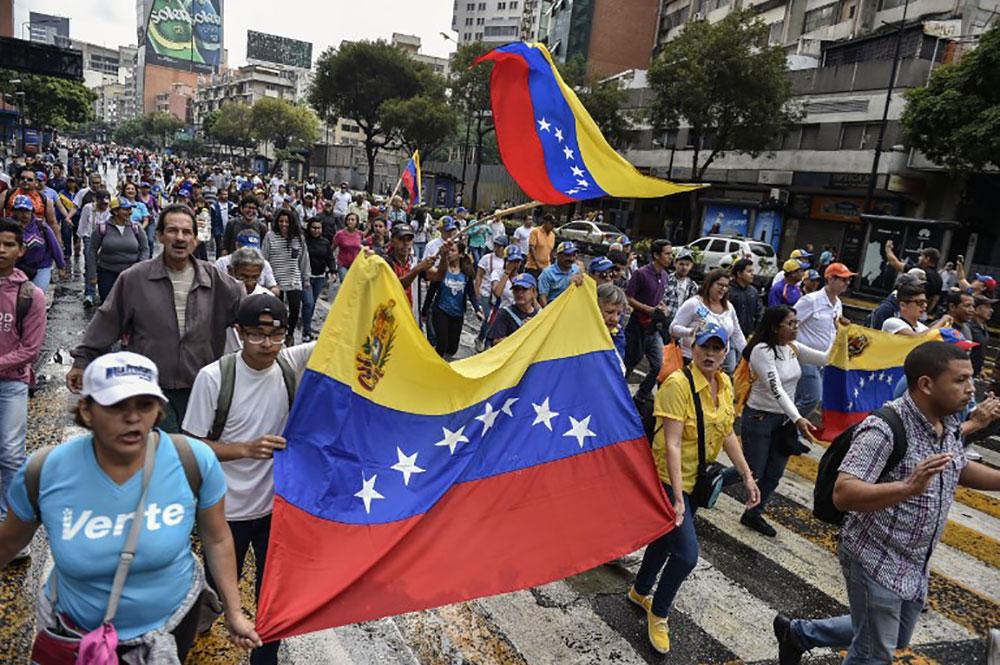 Le Venezuela se prépare à une manifestation appelée par Juan Guaido