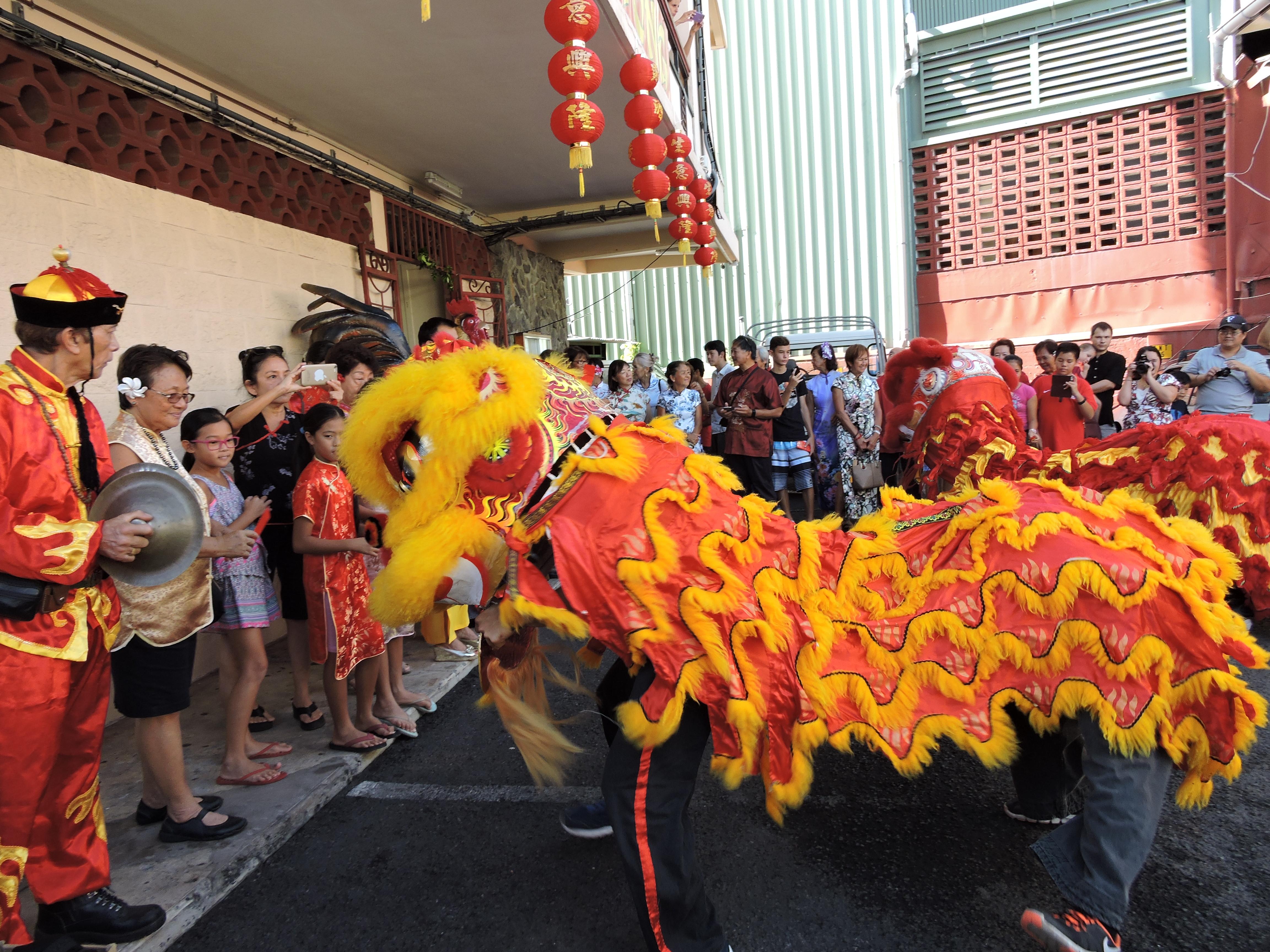 Nouvel An chinois : la tradition de la danse du Lion