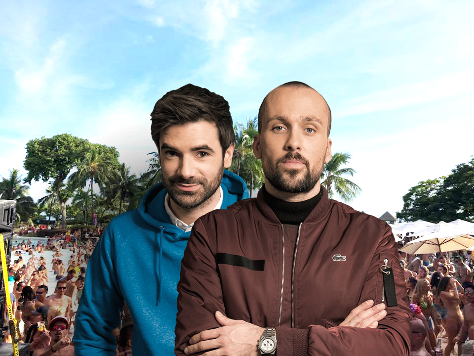Alex et Paul de Synapson, les rois de l'électro-pop, viennent d'être nominés aux Victoires de la musique 2019.