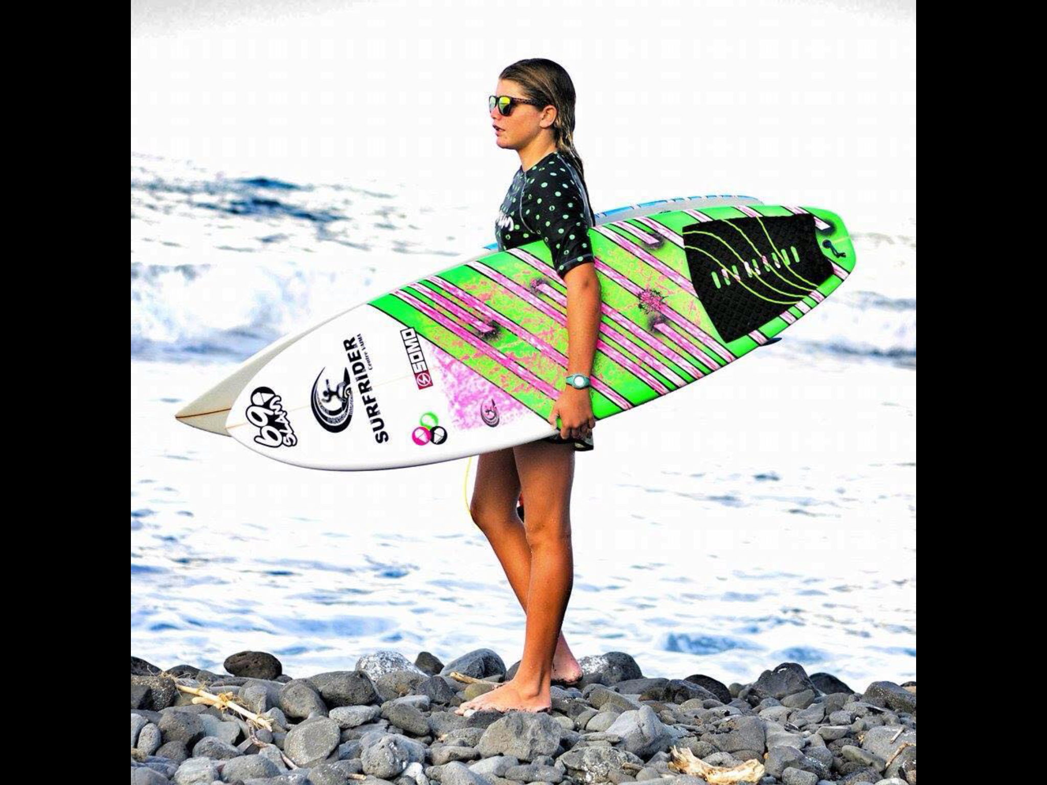 """""""J'ai choisi le surf parce que j'aime l'océan..."""""""
